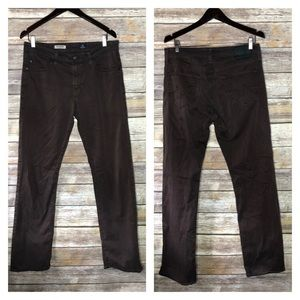AG Adriano Goldschmied protege men's sueded pants